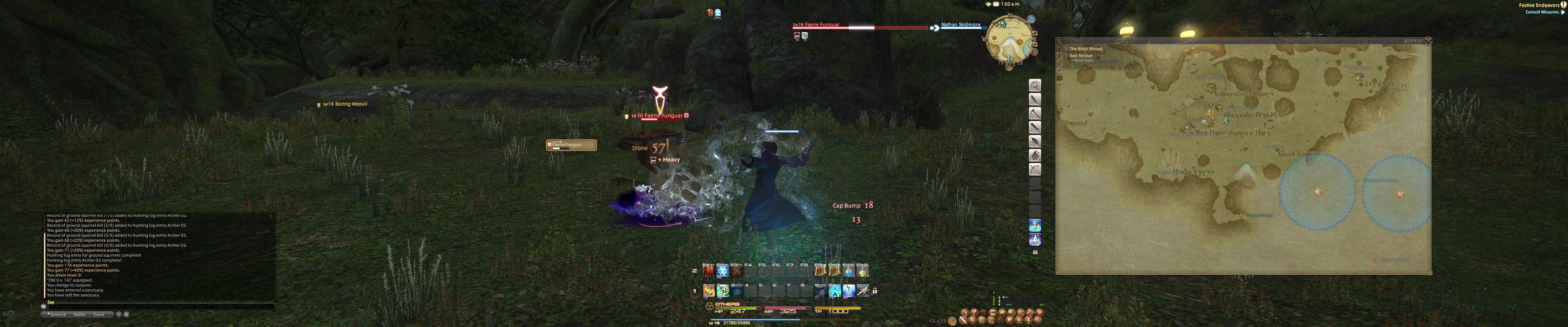 Final Fantasy XIV: A Realm Reborn (Triple Monitors / Eyefinity