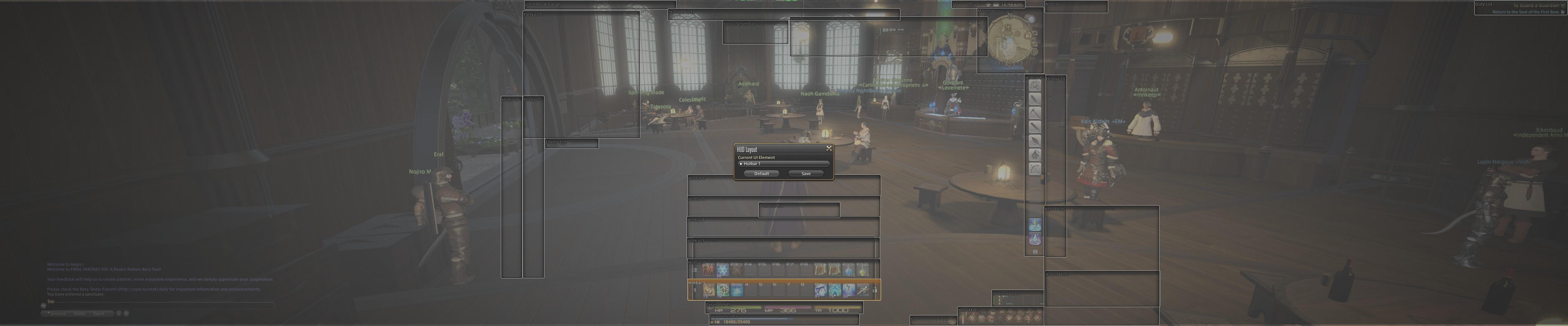Final Fantasy XIV: A Realm Reborn (Triple Monitors