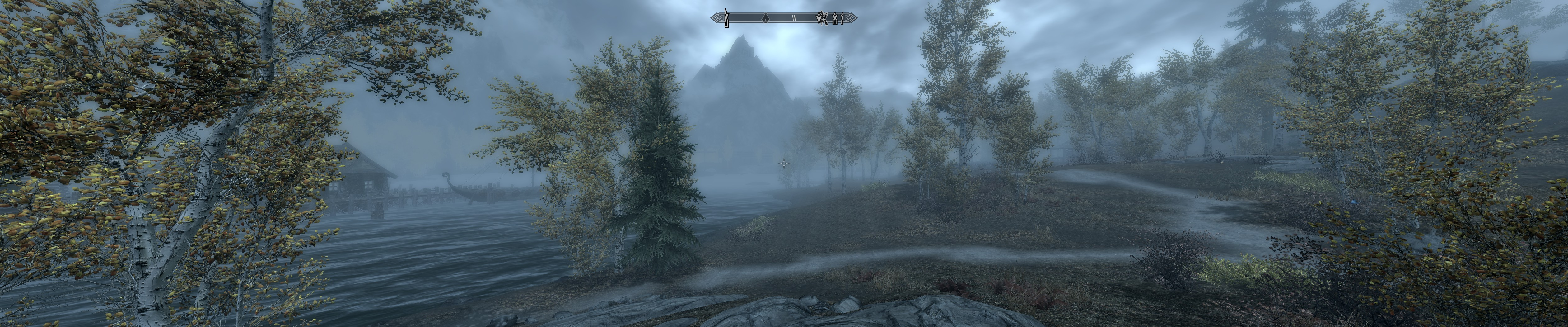Skyrim Triple Monitors Eyefinity Surround 4k Video V