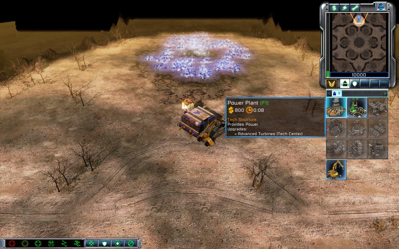 Command Conquer 3: Tiberium Wars - DEMO generator online
